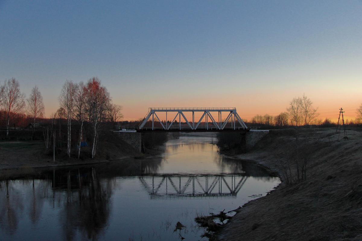 Мстинский мост, станция Мста