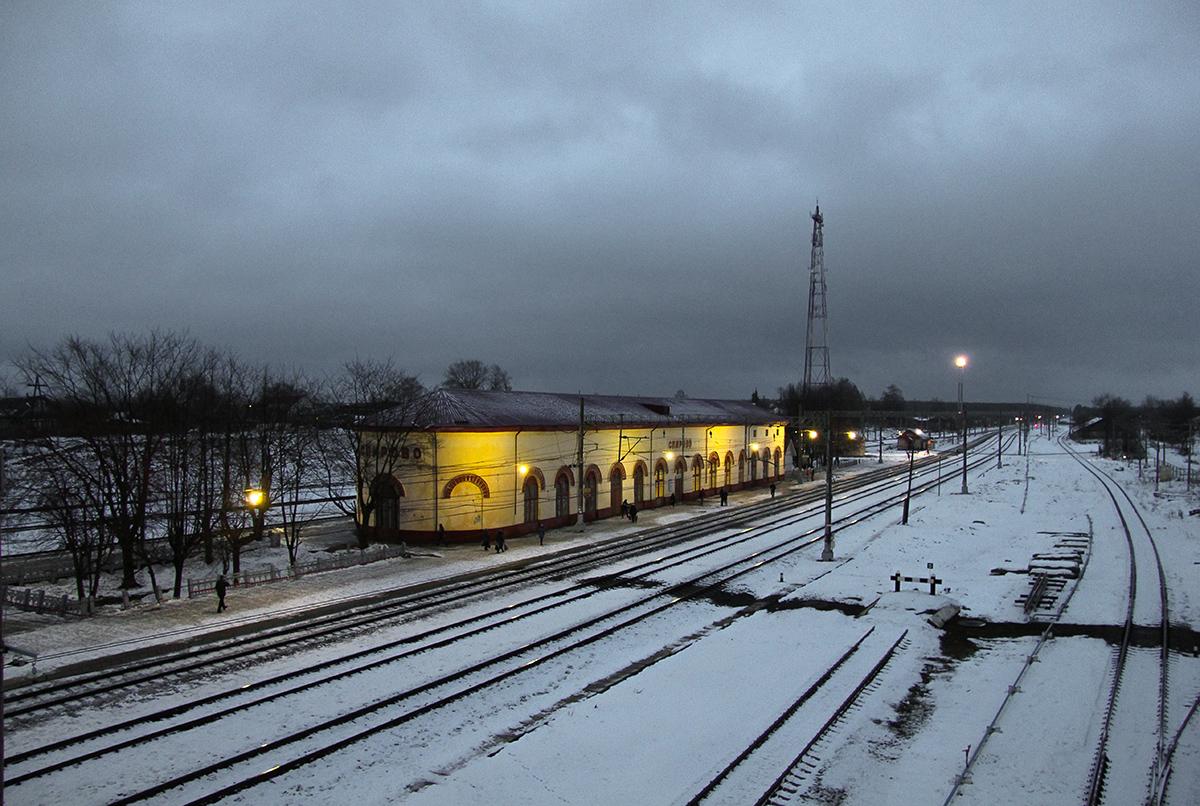 Вокзал станции Спирово