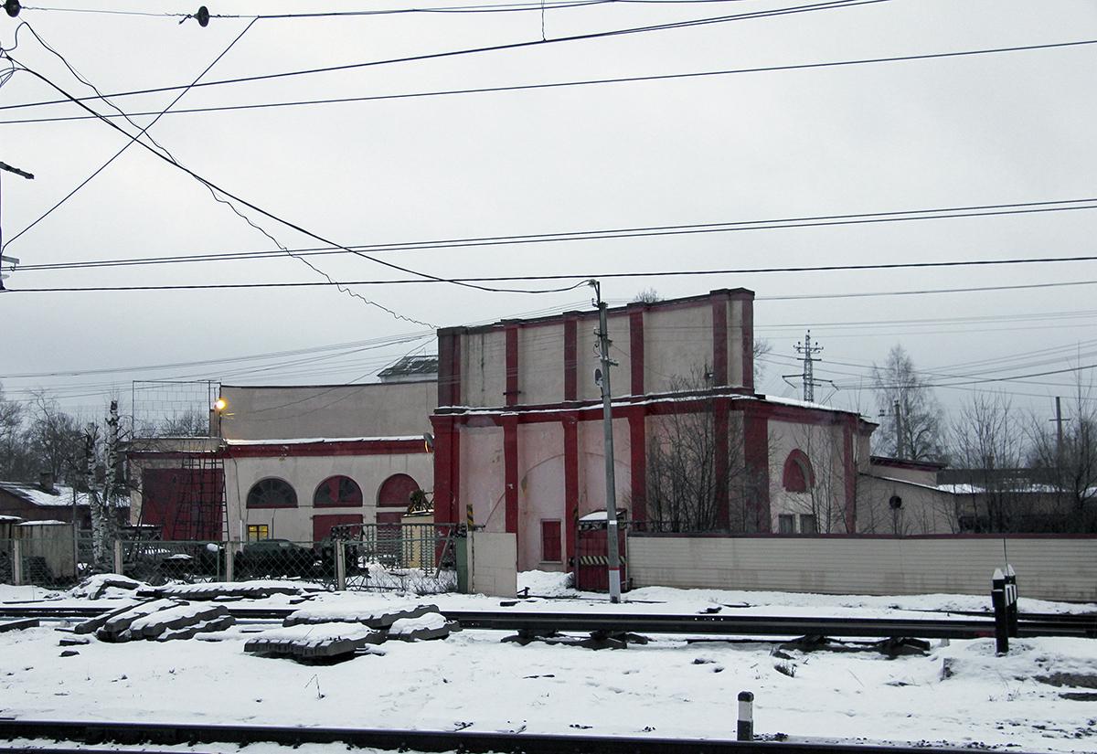 Остатки веерного депо Спирово