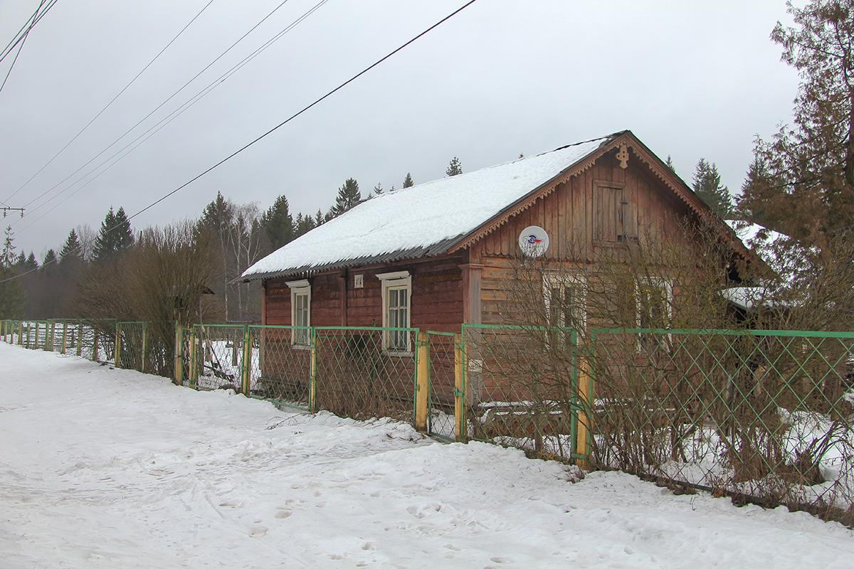 Путейская казарма близ о.п. Бухаловский переезд