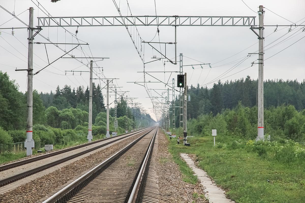 Окрестности платформы Кулицкая, вид в сторону Дорошихи