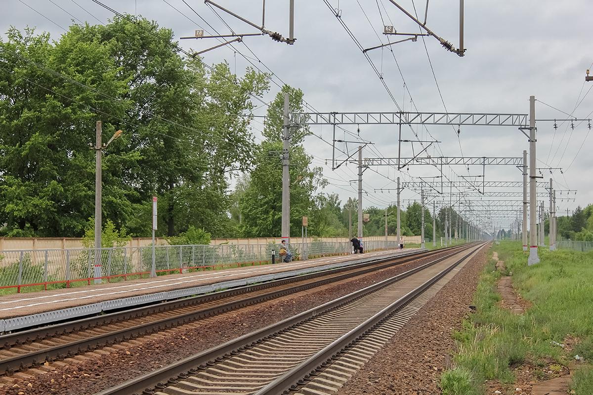 Платформа Кулицкая «На Тверь», вид со стороны Дорошихи