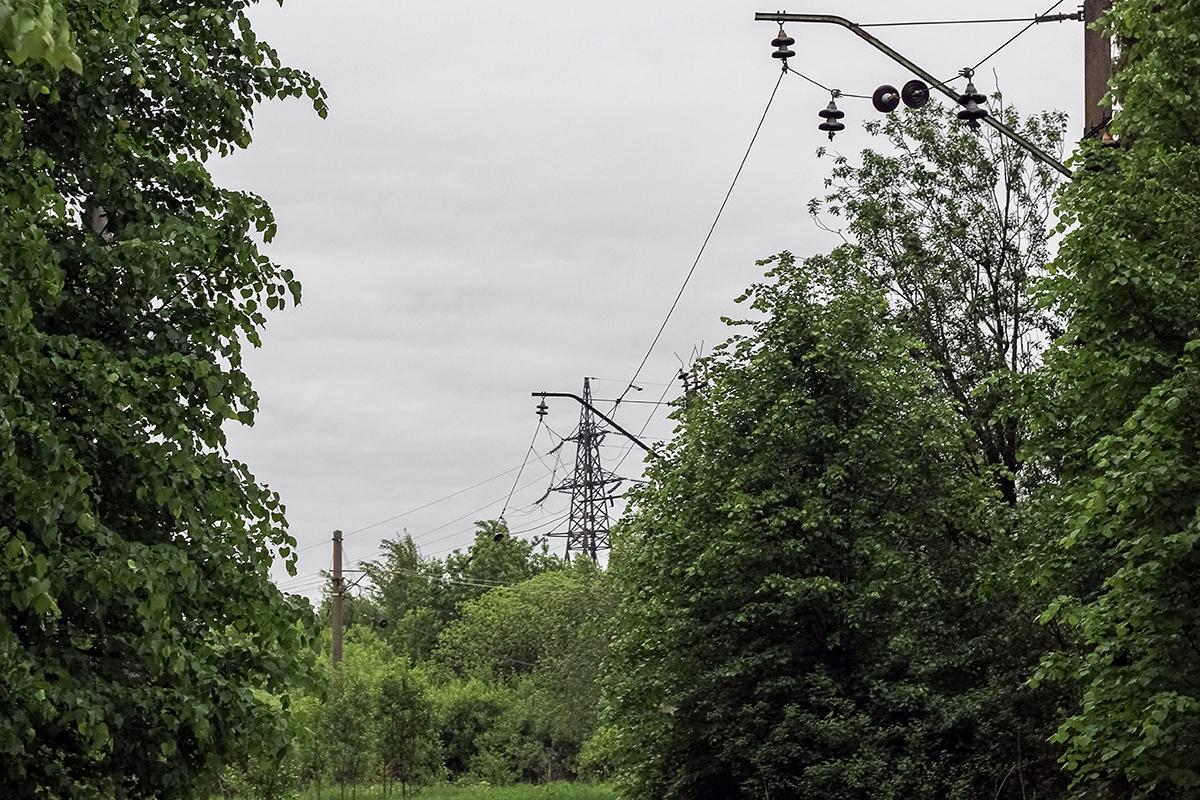 Остатки подъездного пути от платформы Кулицкая