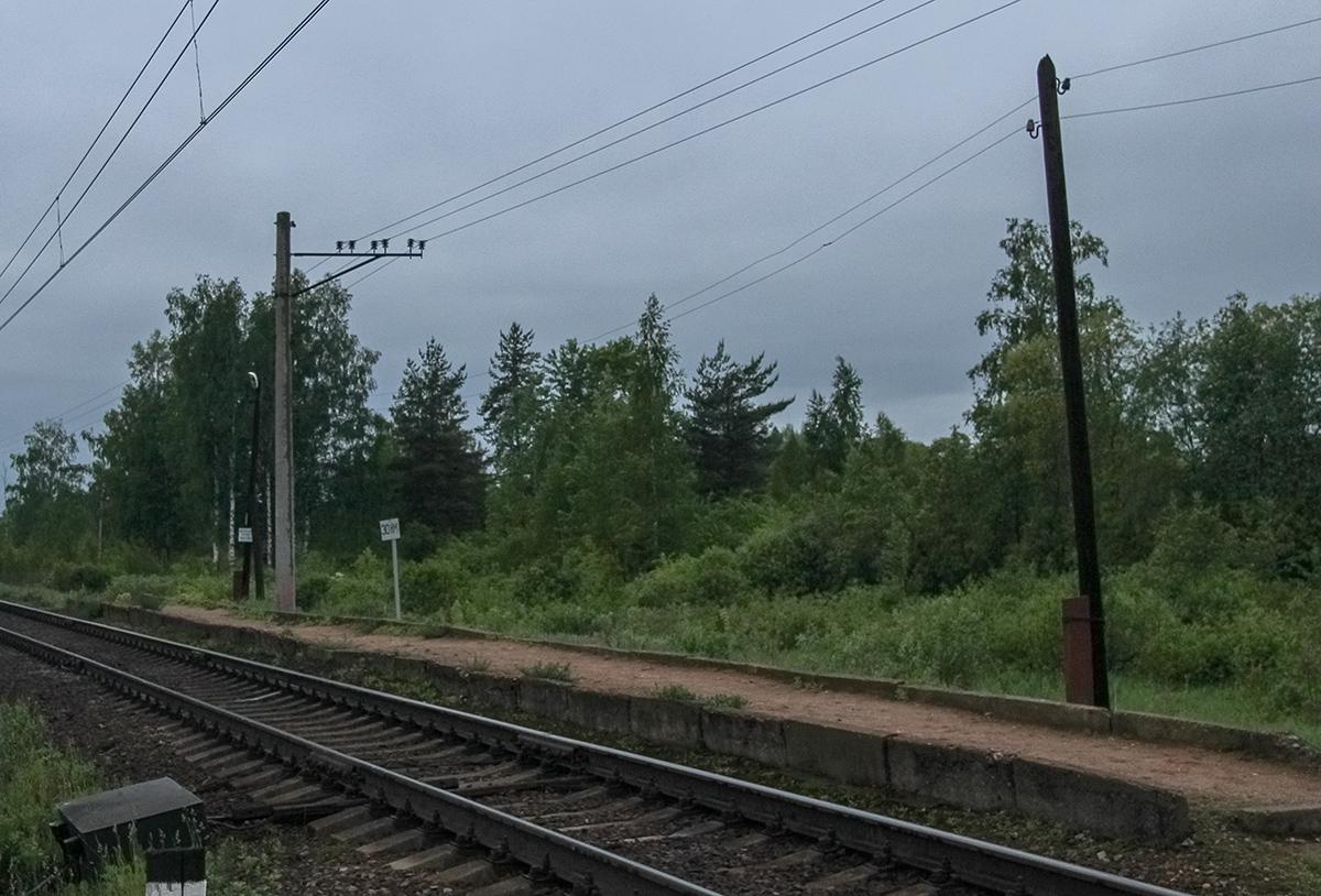Платформа Сокол (о.п. 30 км), перегон Торжок - Терешкино