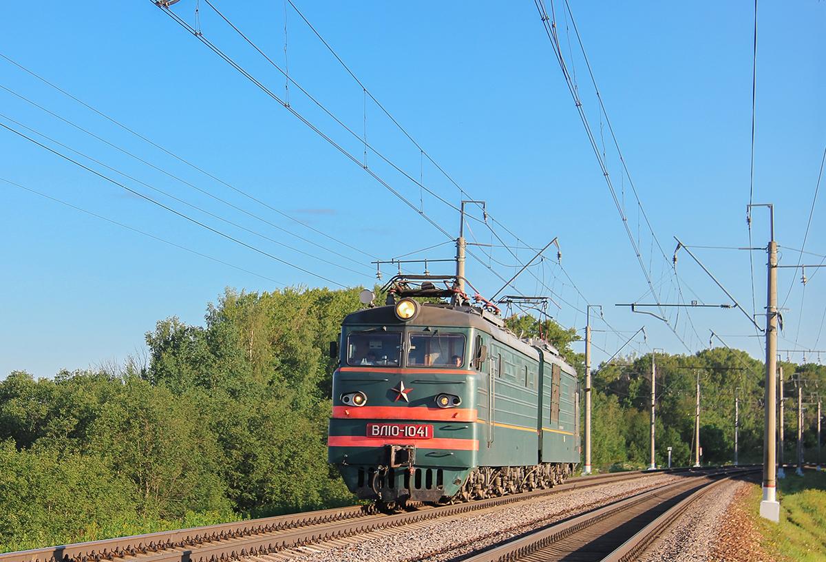 Электровоз ВЛ10-1041, перегон Клин - Подсолнечная