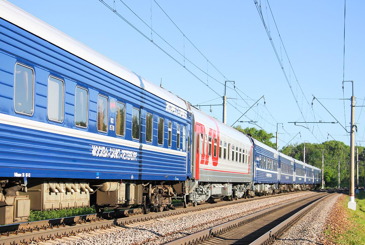 """Вагоны поезда №3/4 """"Экспресс"""""""
