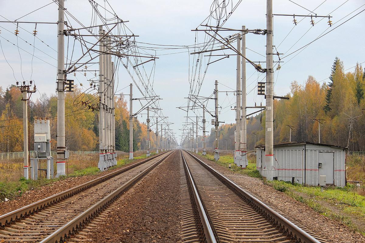 Пост секционирования близ платформы Черничная