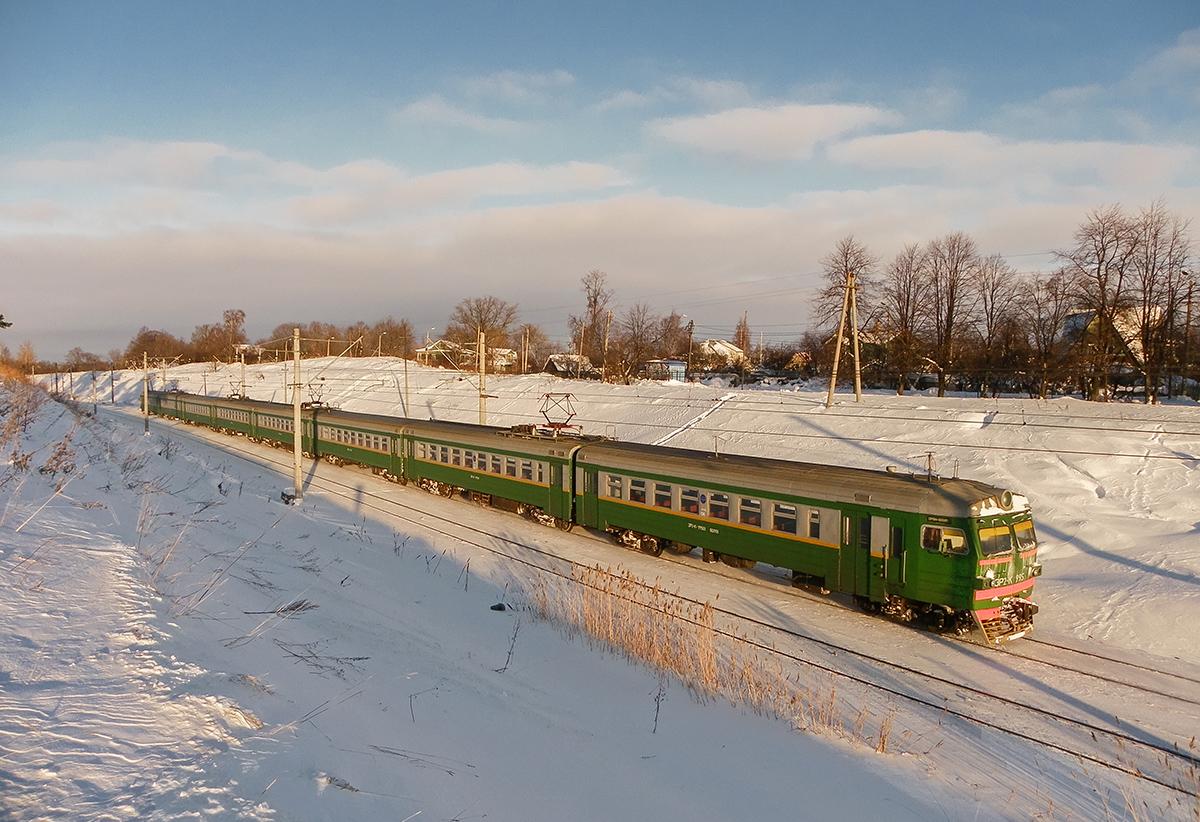 Электропоезд ЭР2К-995, перегон Новый Петергоф - Ораниенбаум-I