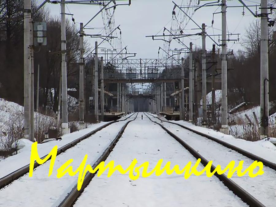Платформа Мартышкино, остановочный пункт Мартышкино, Мартышкино, ЭР2