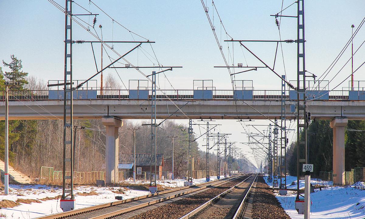 Вид с участка Тверца - Санаторий в сторону Москвы