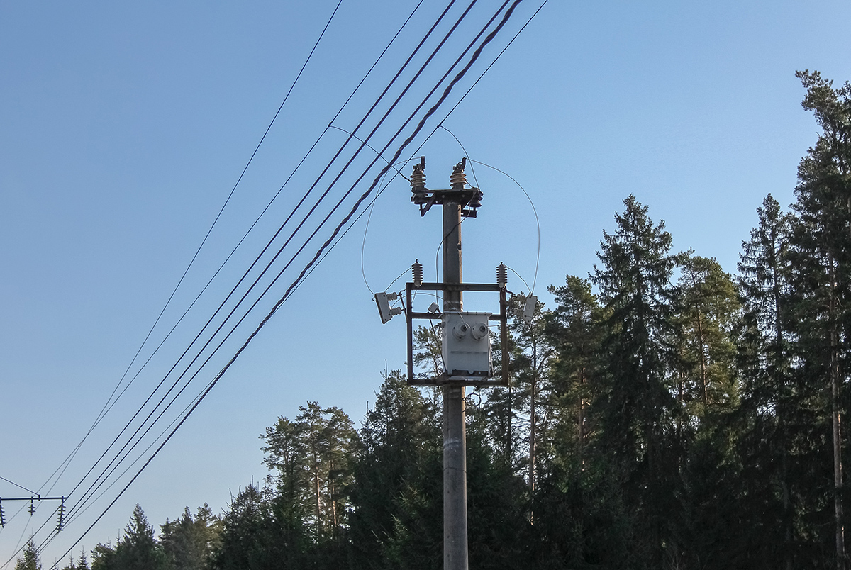 Трансформаторы на участке Санаторий - Тверца, Главный ход ОКТ