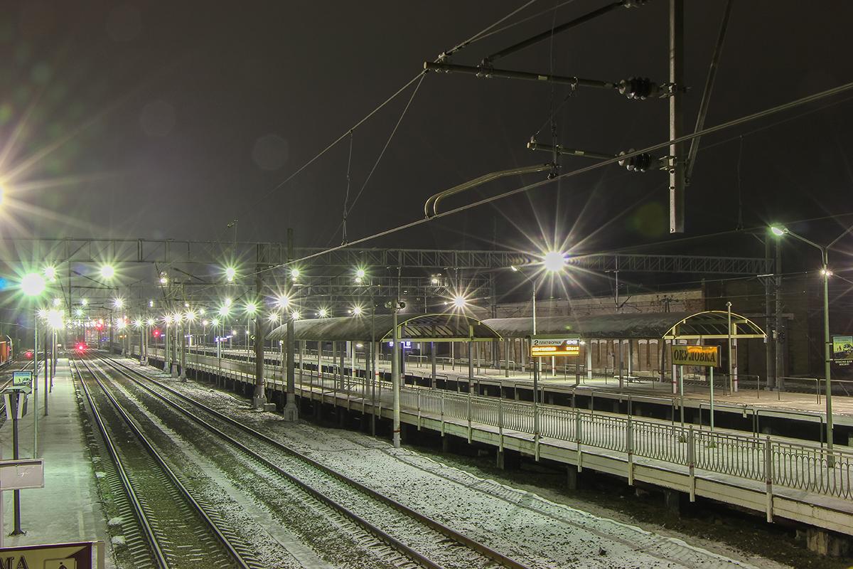 Станция Окуловка