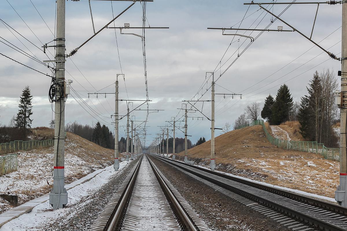 Перегон Окуловка - Боровёнка, 247-й километр