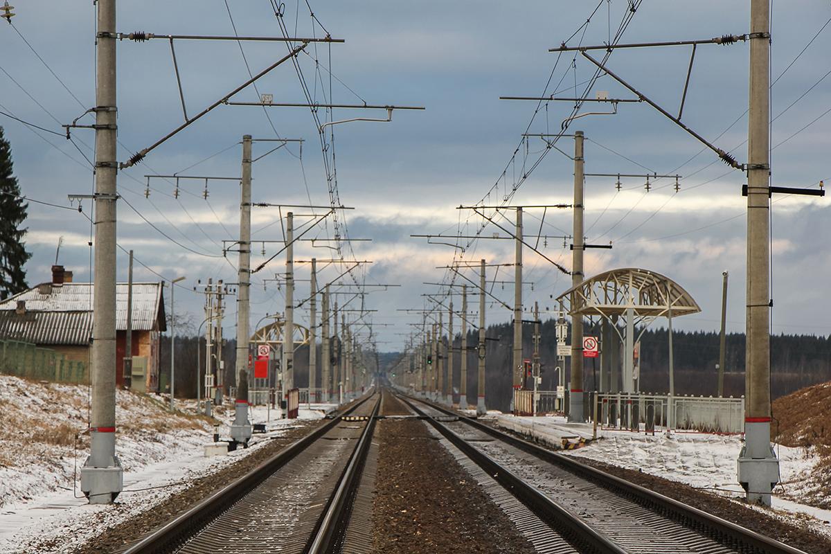 Платформа 246 км., перегон Окуловка - Боровёнка