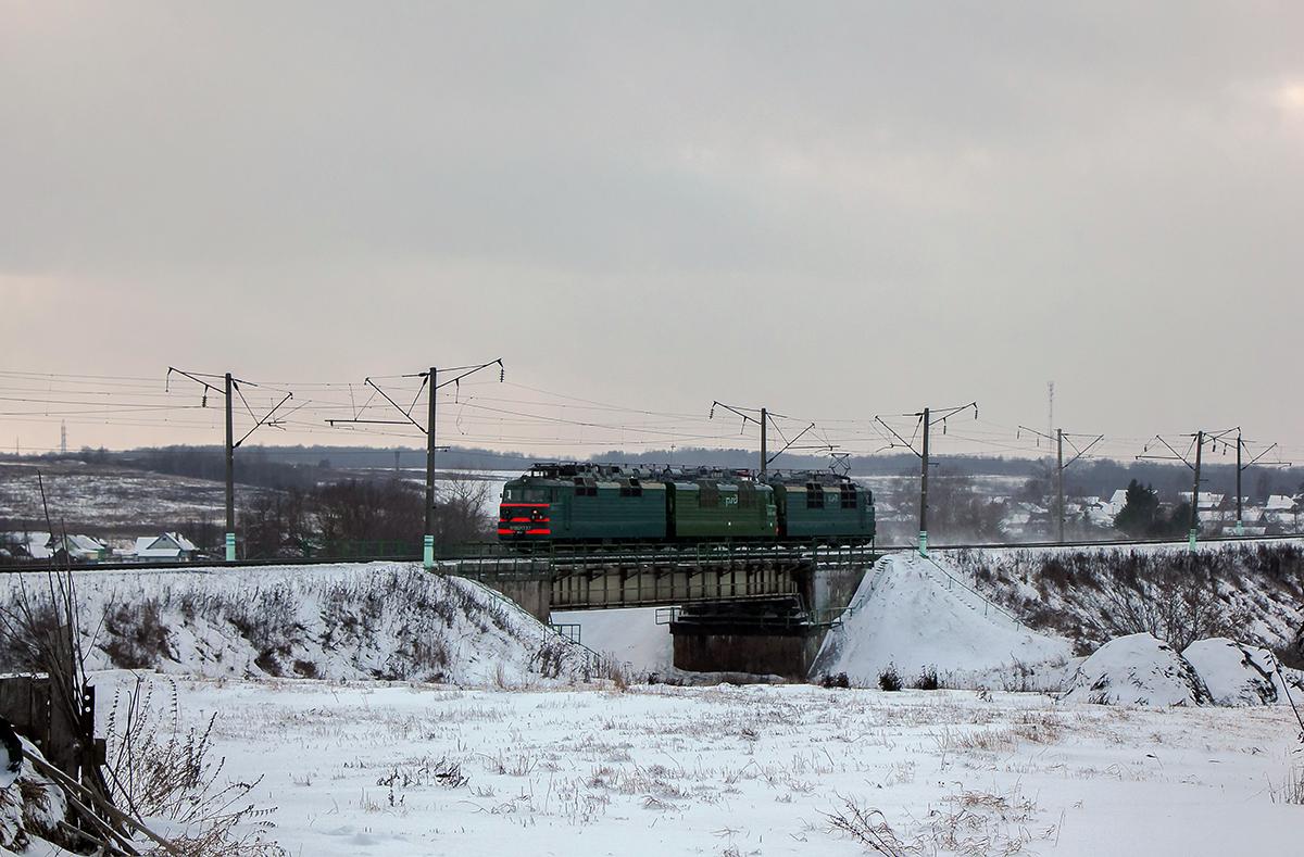 Электровоз ВЛ80С-1737/ВЛ80С-810.1 на перегоне Семлёво - Вязьма