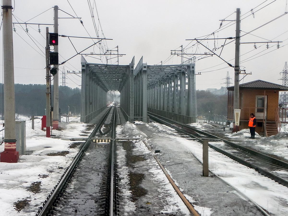 Мосты через Волгу, станция Дорошиха