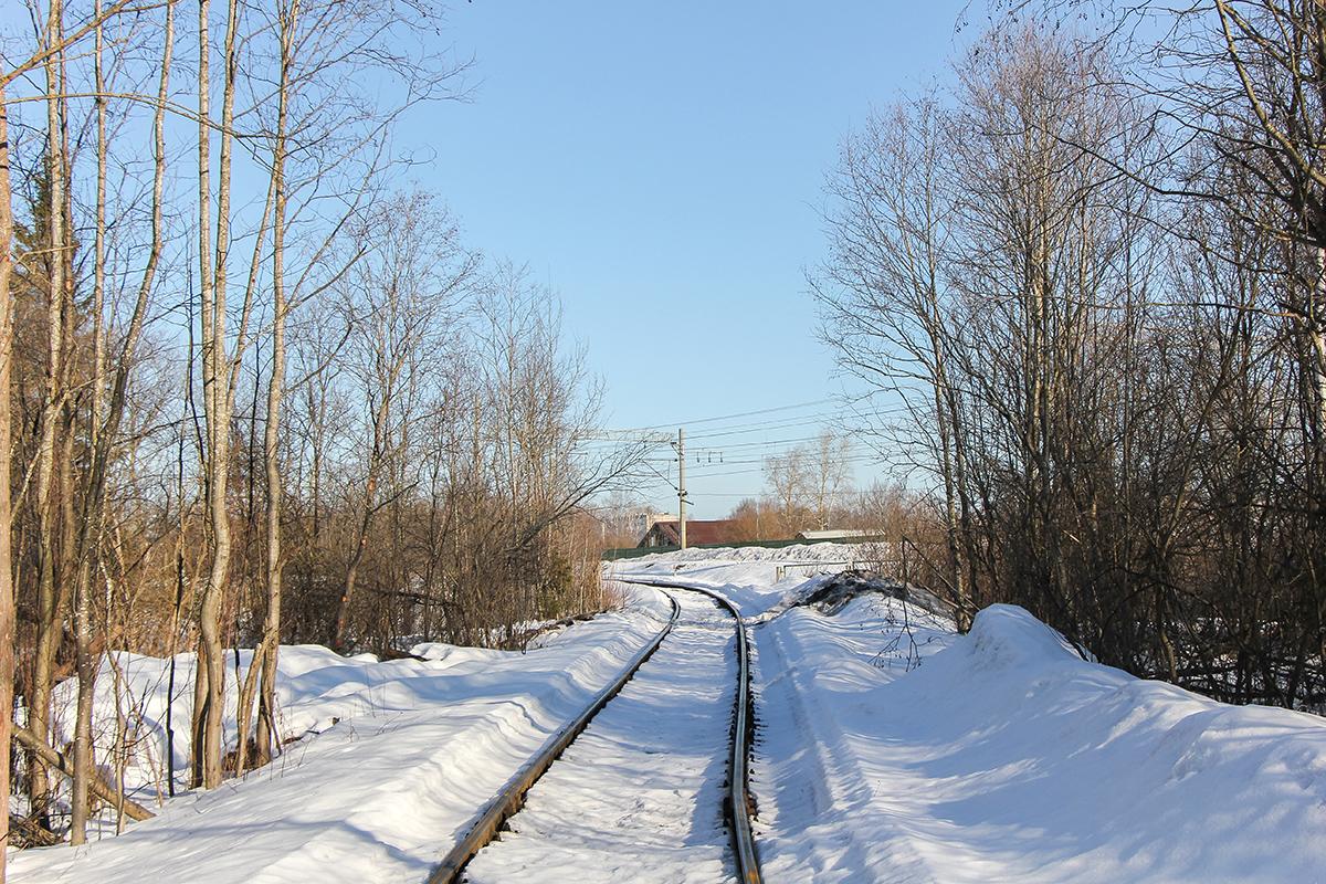 Подъездной путь от станции Калашниково