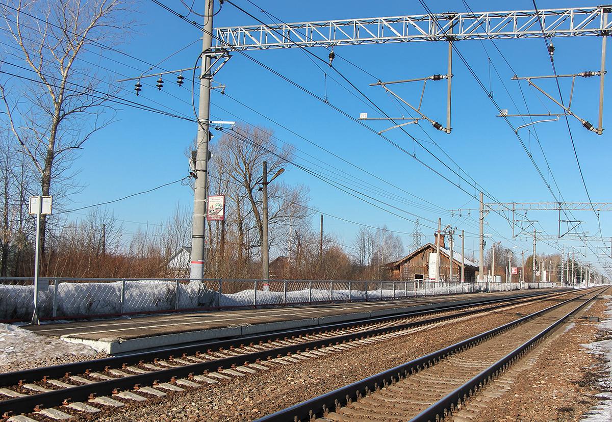 Пассажирская платформа «На Тверь», остановочный пункт Барановка