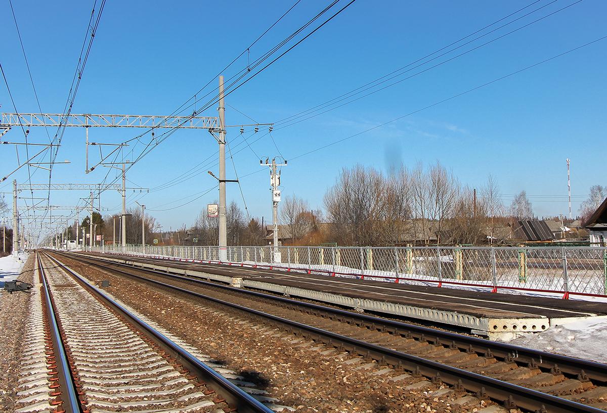 Пассажирская платформа «На Бологое», остановочный пункт Барановка