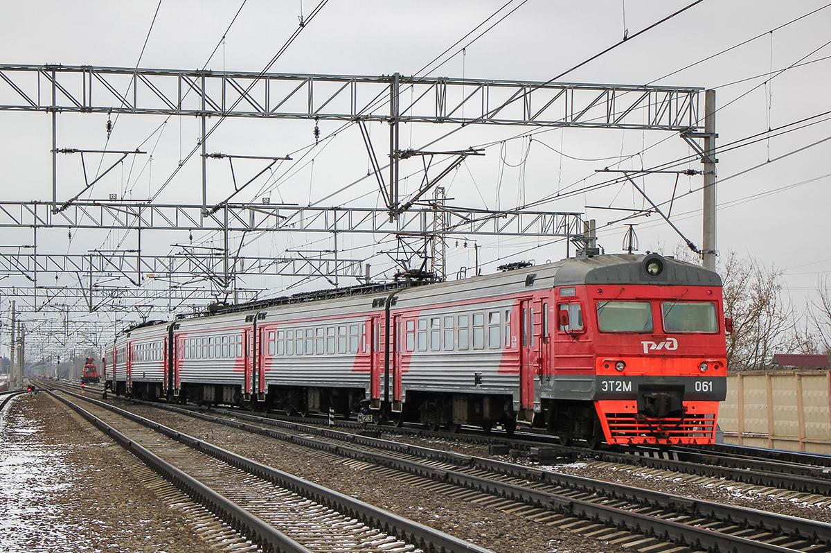 Электропоезд ЭТ2М-061 отправился со станции Вышний Волочёк