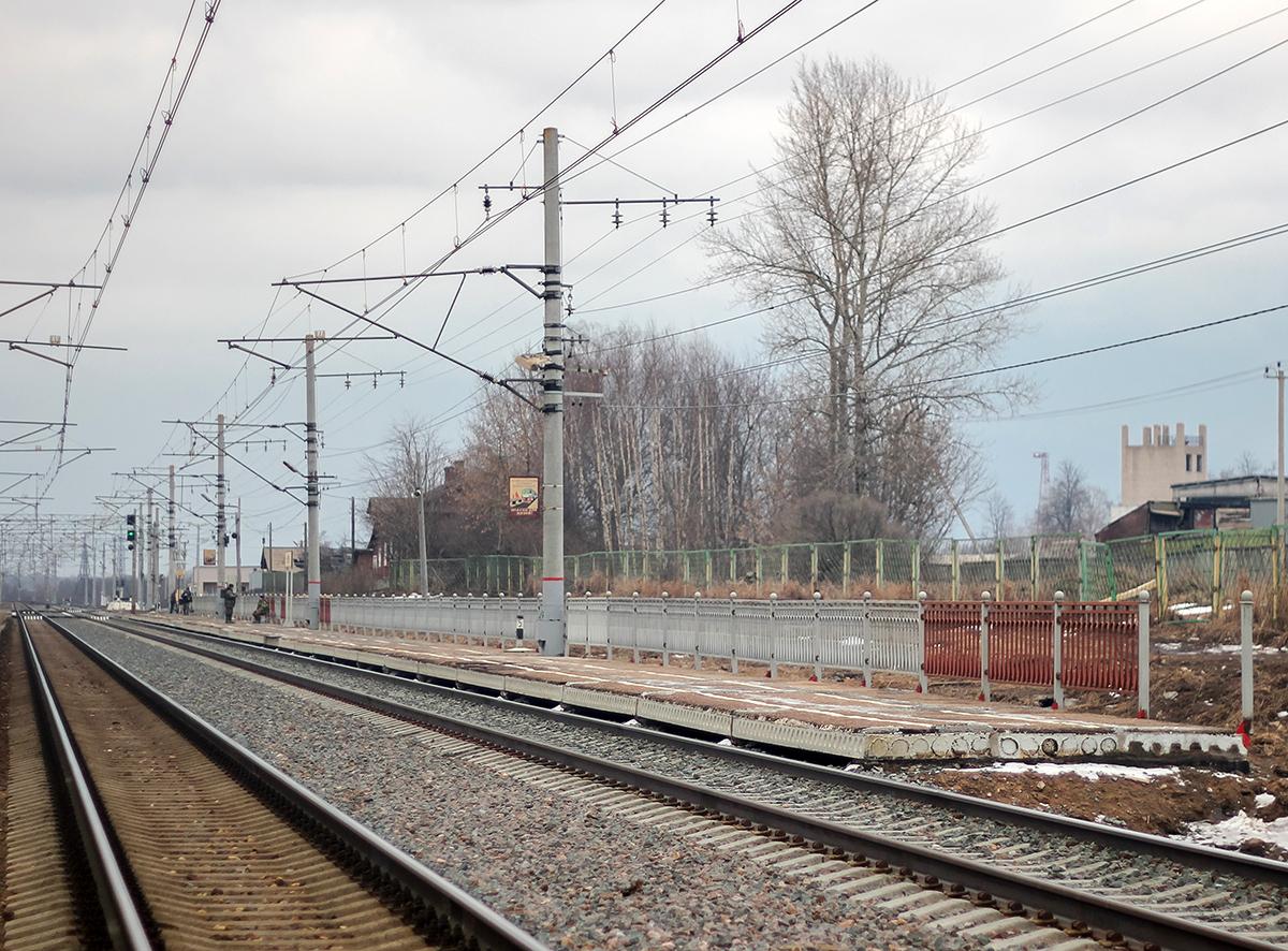 Пассажирская платформа «На Тверь», платформа Цна