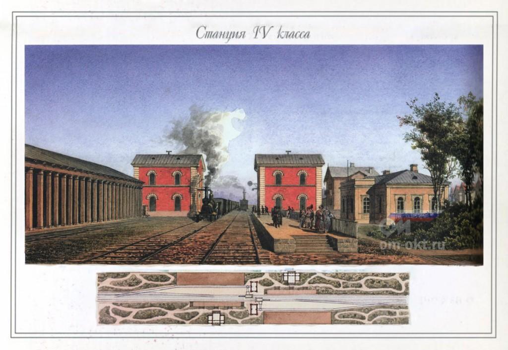 Станция IV класса Николаевской железной дороги