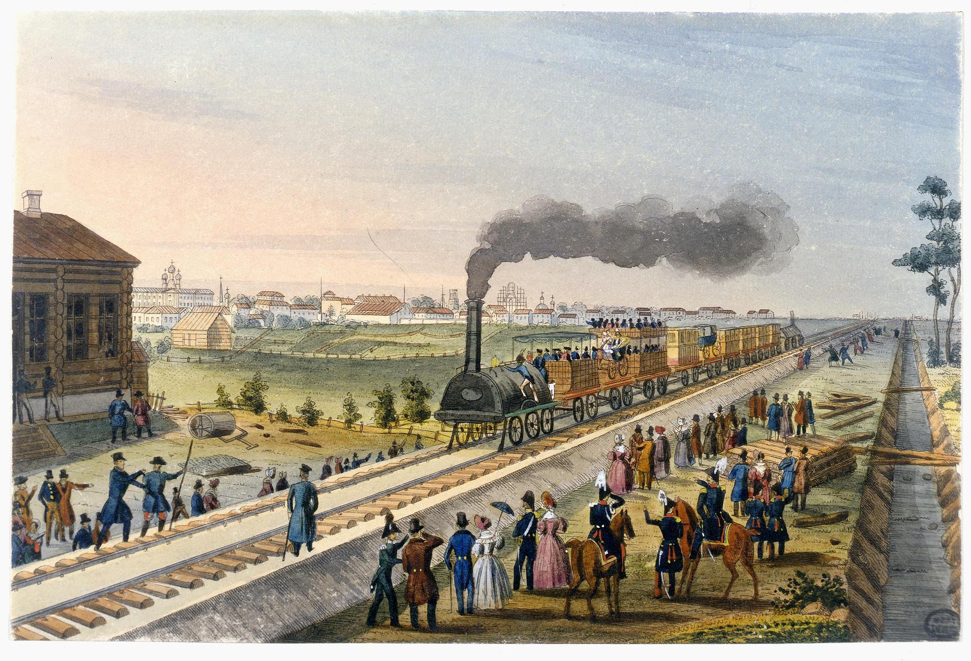 Паровоз Николаевская железная дорога