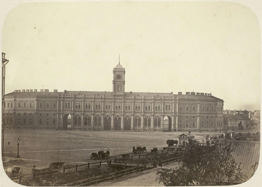 Московский вокзал в Санкт-Петербурге, Октябрьская ЖД