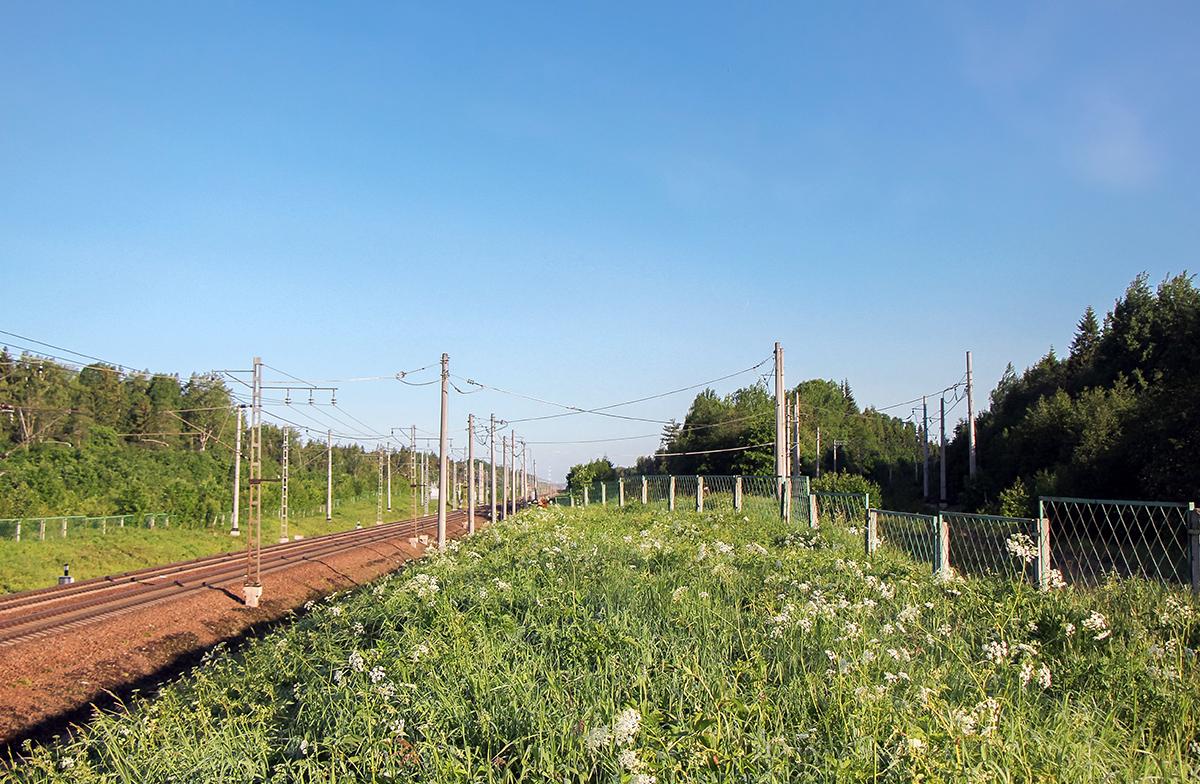 Новая трасса Октябрьской магистрали и Веребьинский обход