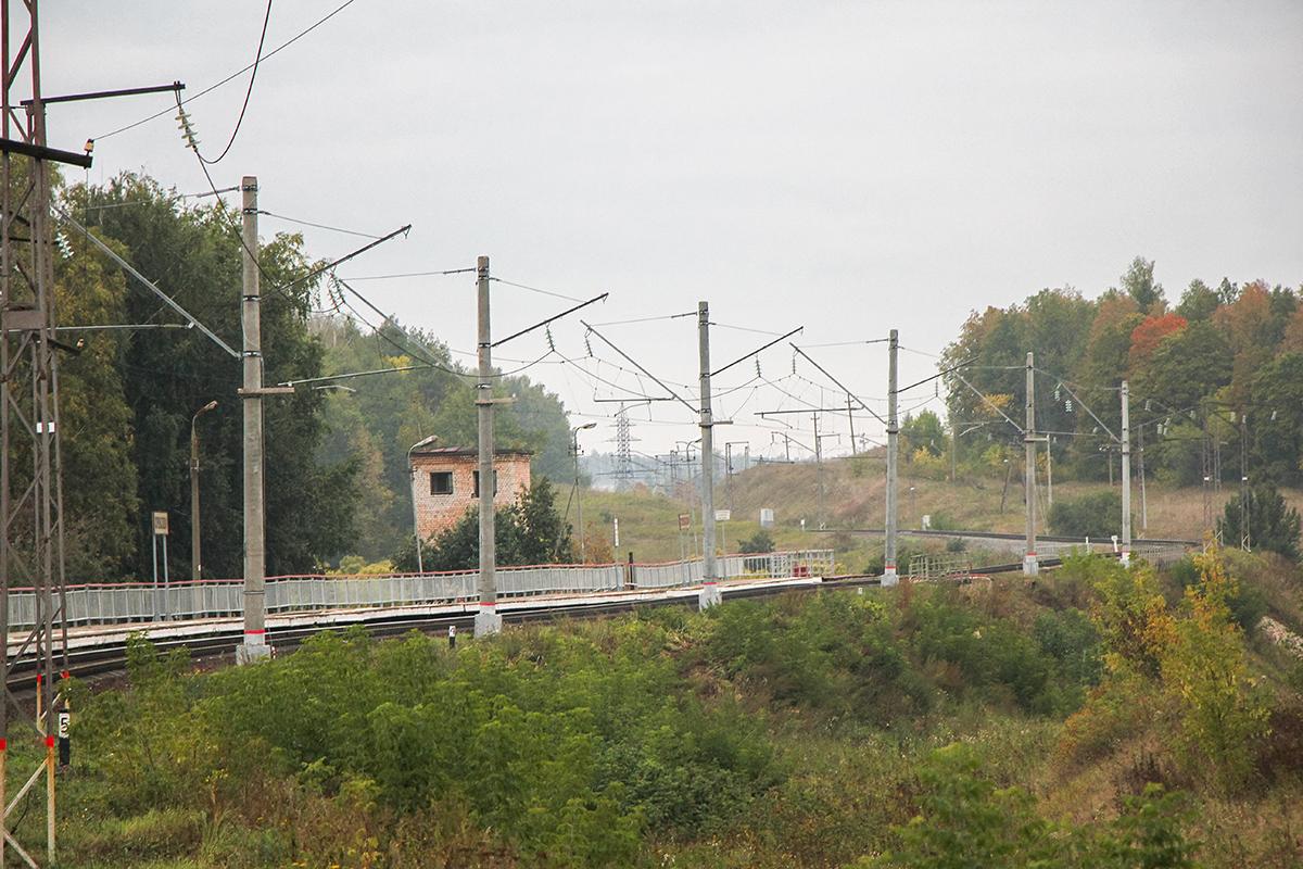 Платформа Кремлёво на перегоне Павелец-I-Тульский - Мшанка