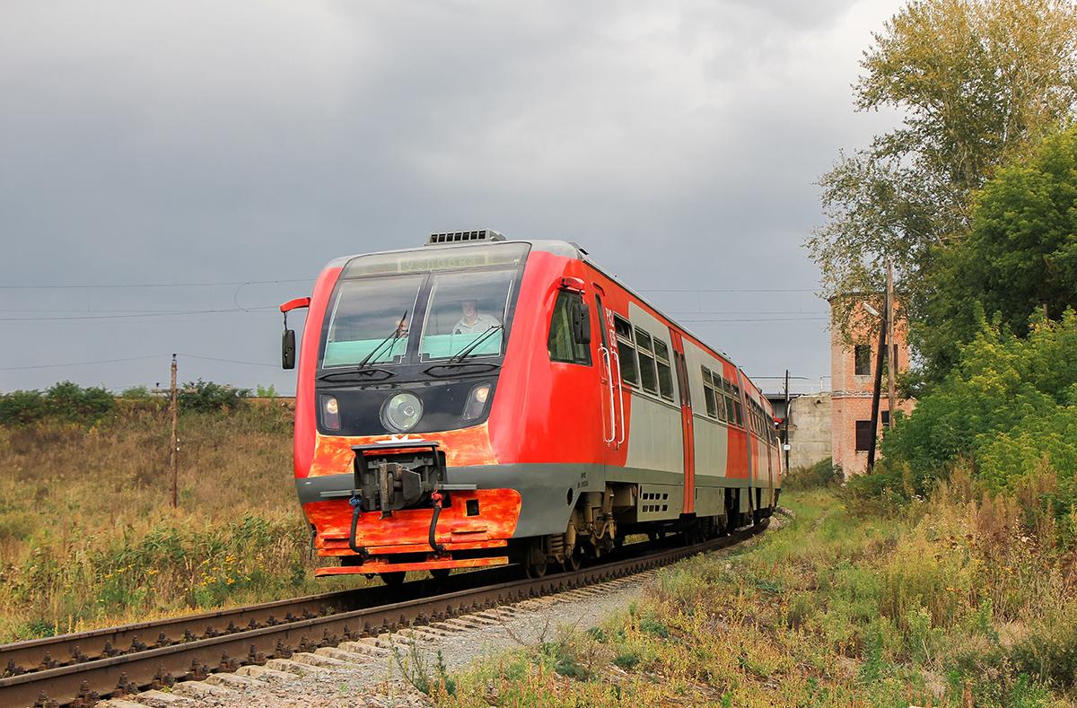 Дизель-поезд РА2-036, перегон Павелец-II-Сызранский - Миллионная