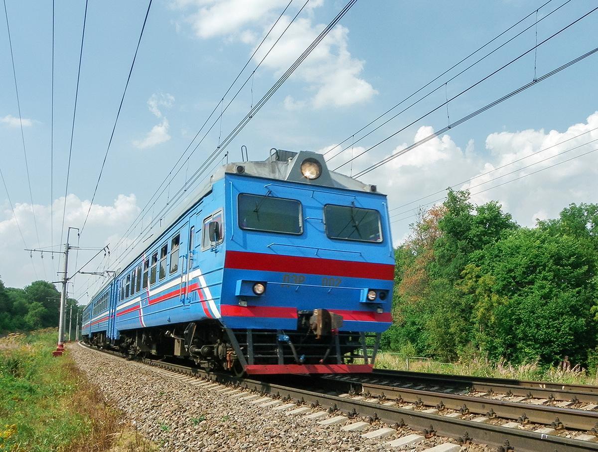Электромотриса ДЭР-002 на перегоне Клин - Подсолнечная