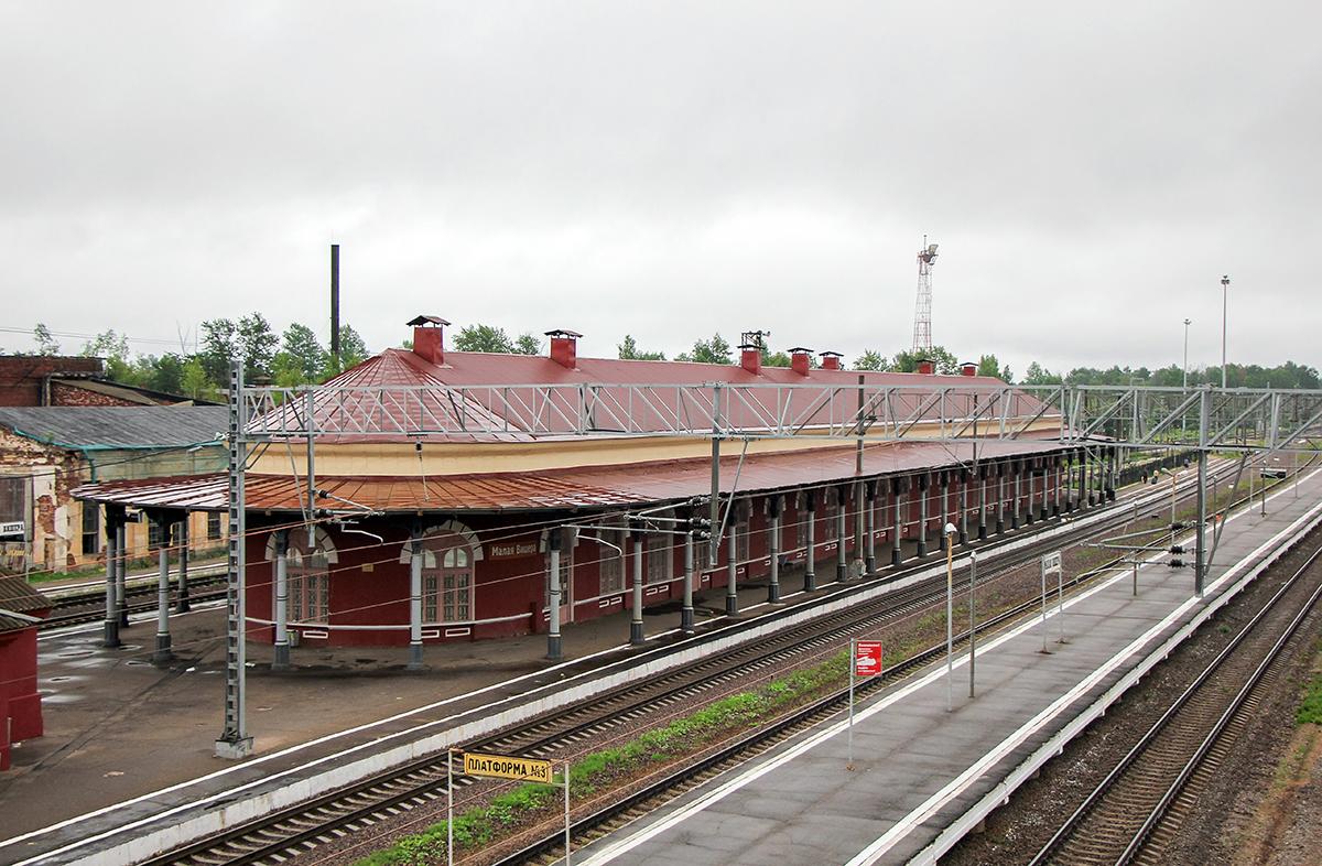 Вокзал на станции Малая Вишера