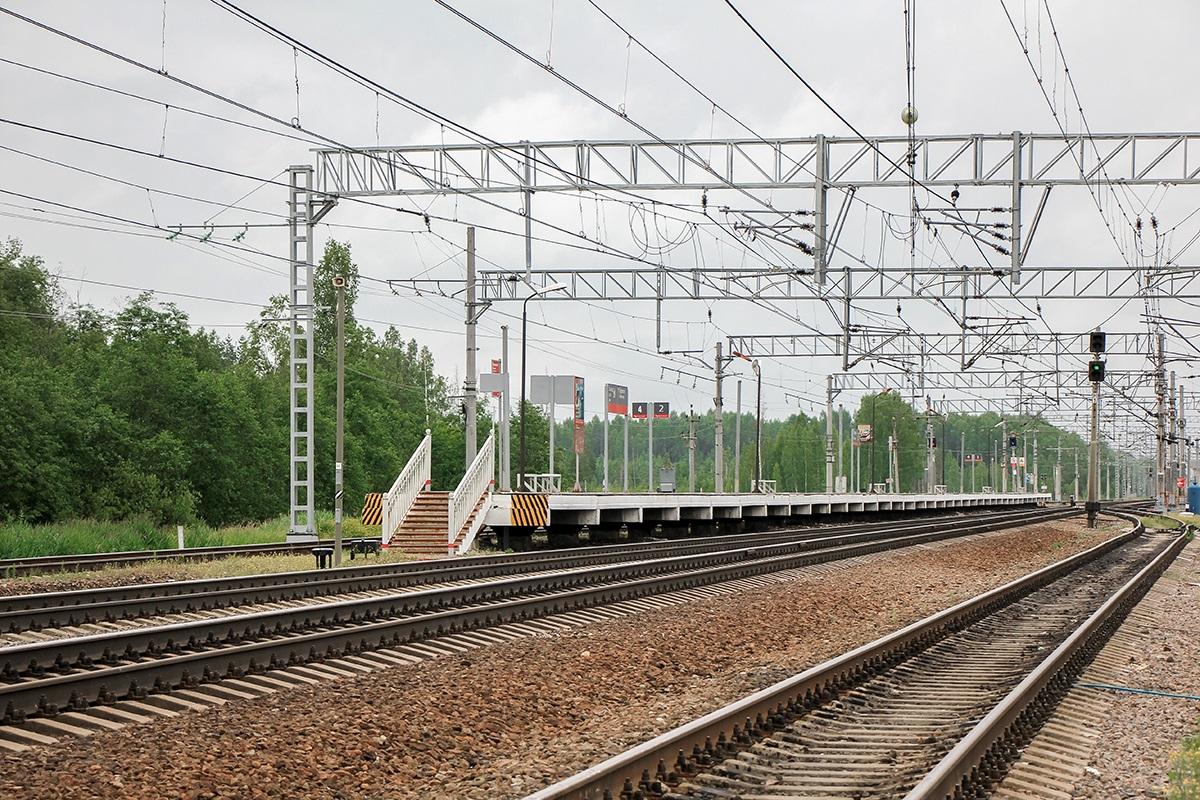 Пассажирская платформа «На Санкт-Петербург», станция Торфяное