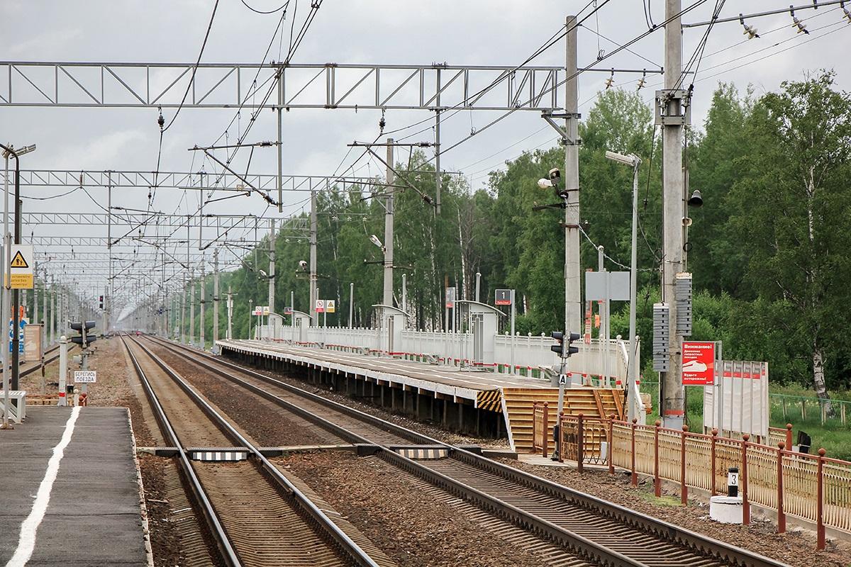 Пассажирская платформа «На Малую Вишеру», станция Торфяное