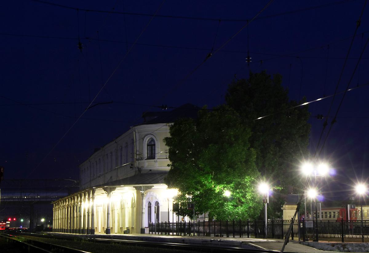 Вокзал станции Любань