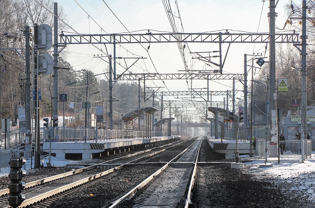 Платформа Поваровка, станция Поварово-I