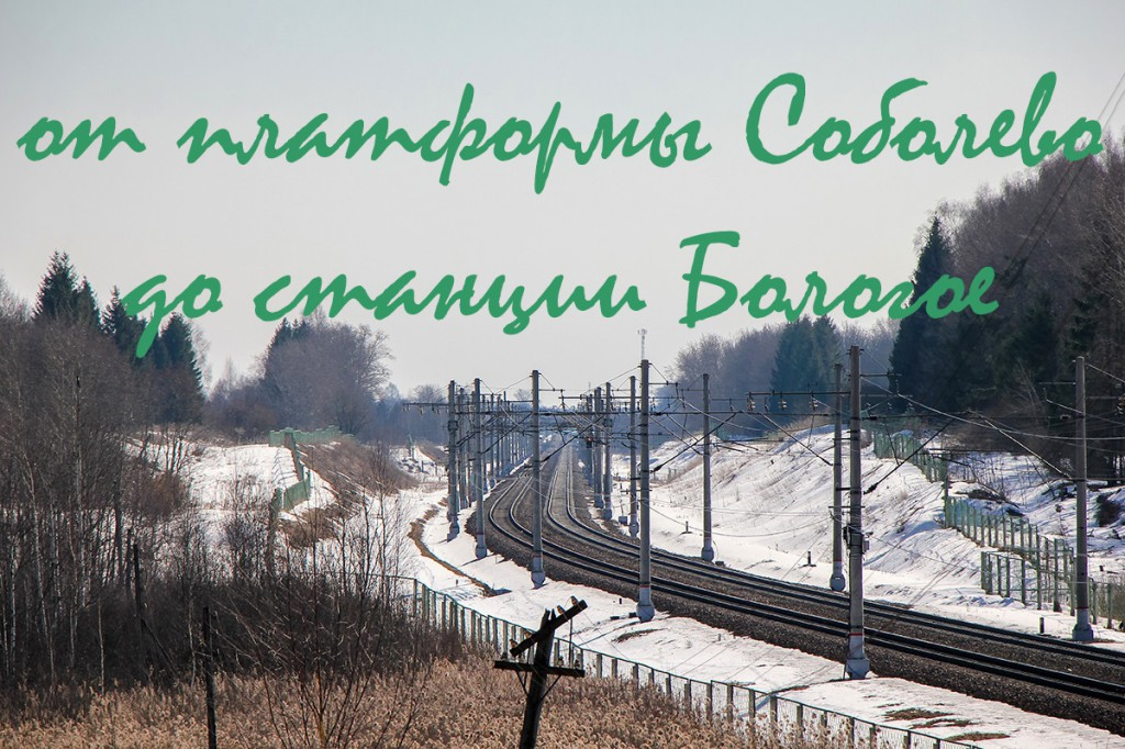 Платформы Соболево, Костромцовская, Бочановка, Петерсоновка, пл. 331 км, Виноградовская, пл. 322 км, станции Бушевец и Бологое-Московское