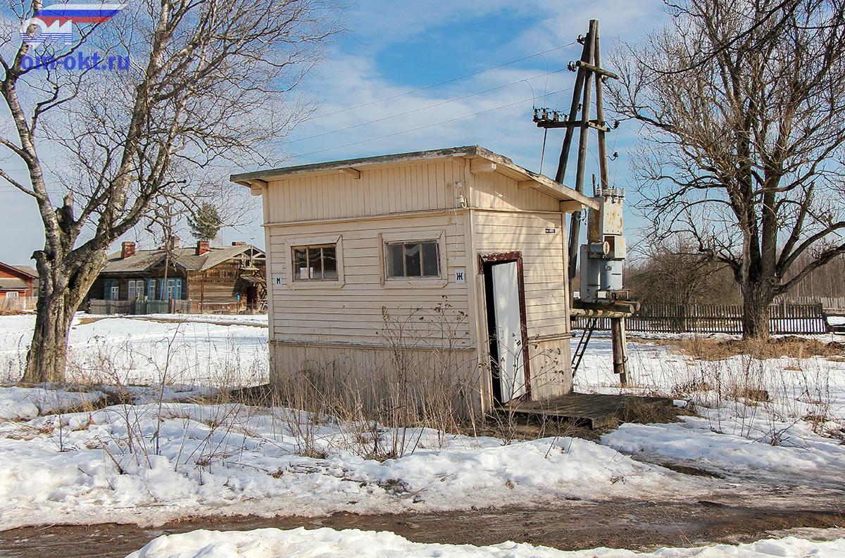 Туалет на станции Бологое-Полоцкое