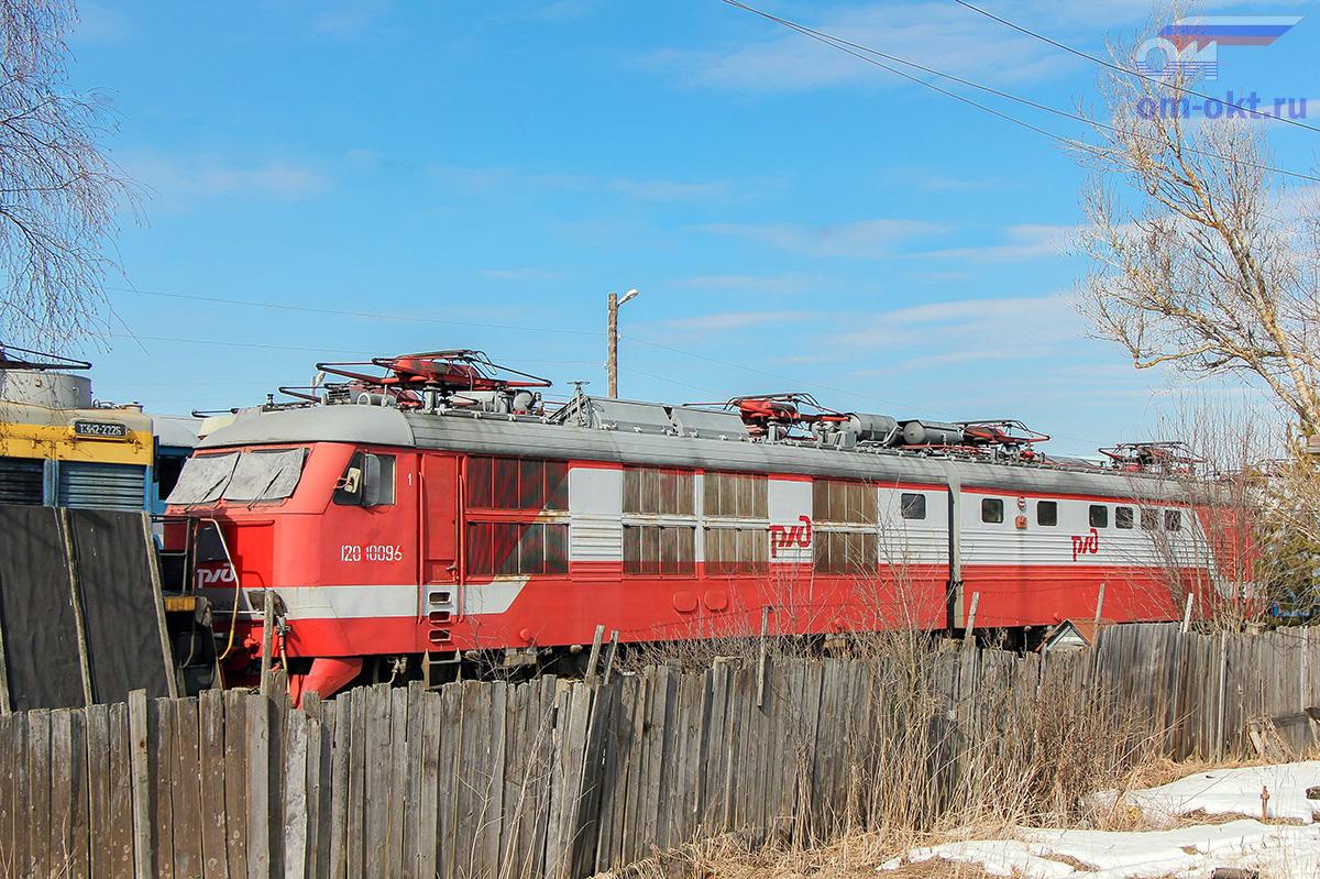 Электровоз ЧС6-005 на базе запаса Бологое-Полоцкое