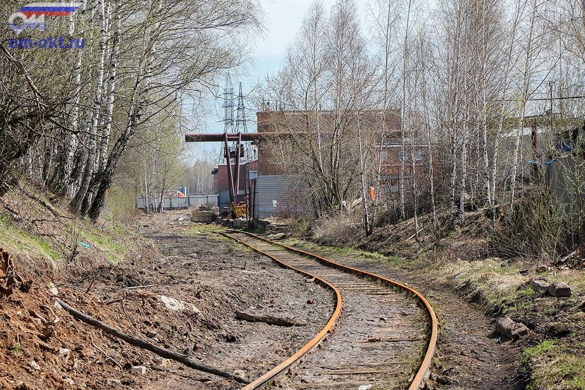 Подъездной путь от станции Крюково к заводу ЖБИ