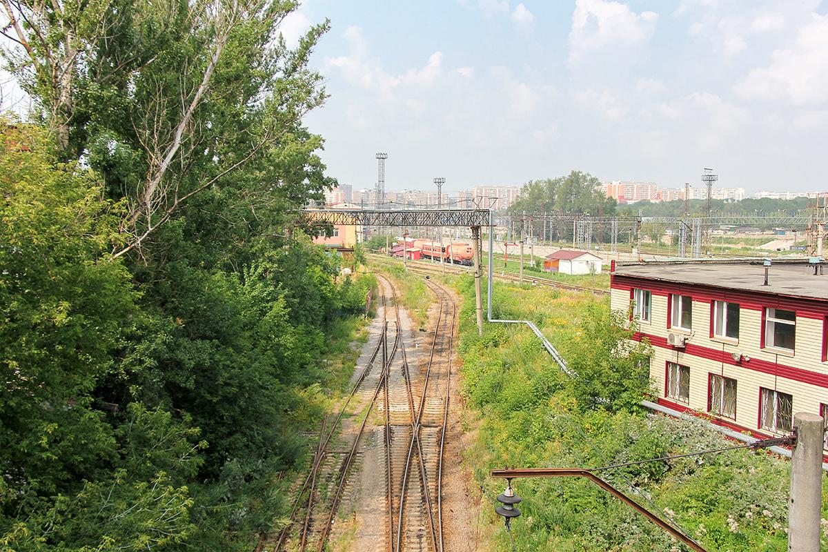 Подъездные пути к станции Ховрино