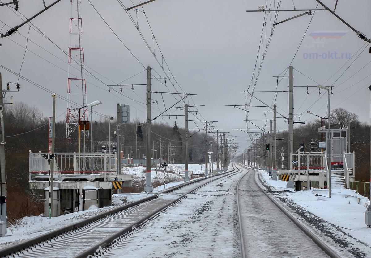 Платформа 130 км, перегон Чудово-Московское - Гряды