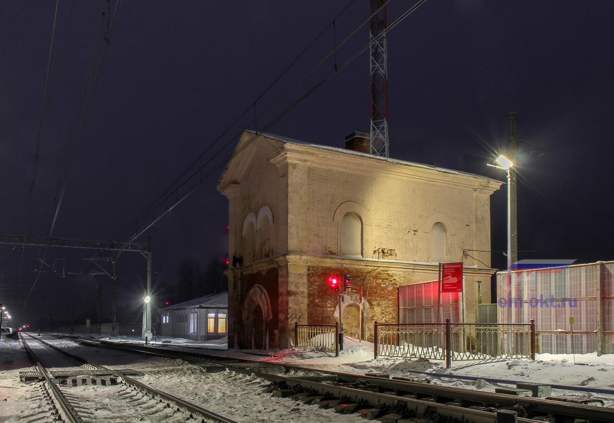 Водонапорная башня на станции Гряды