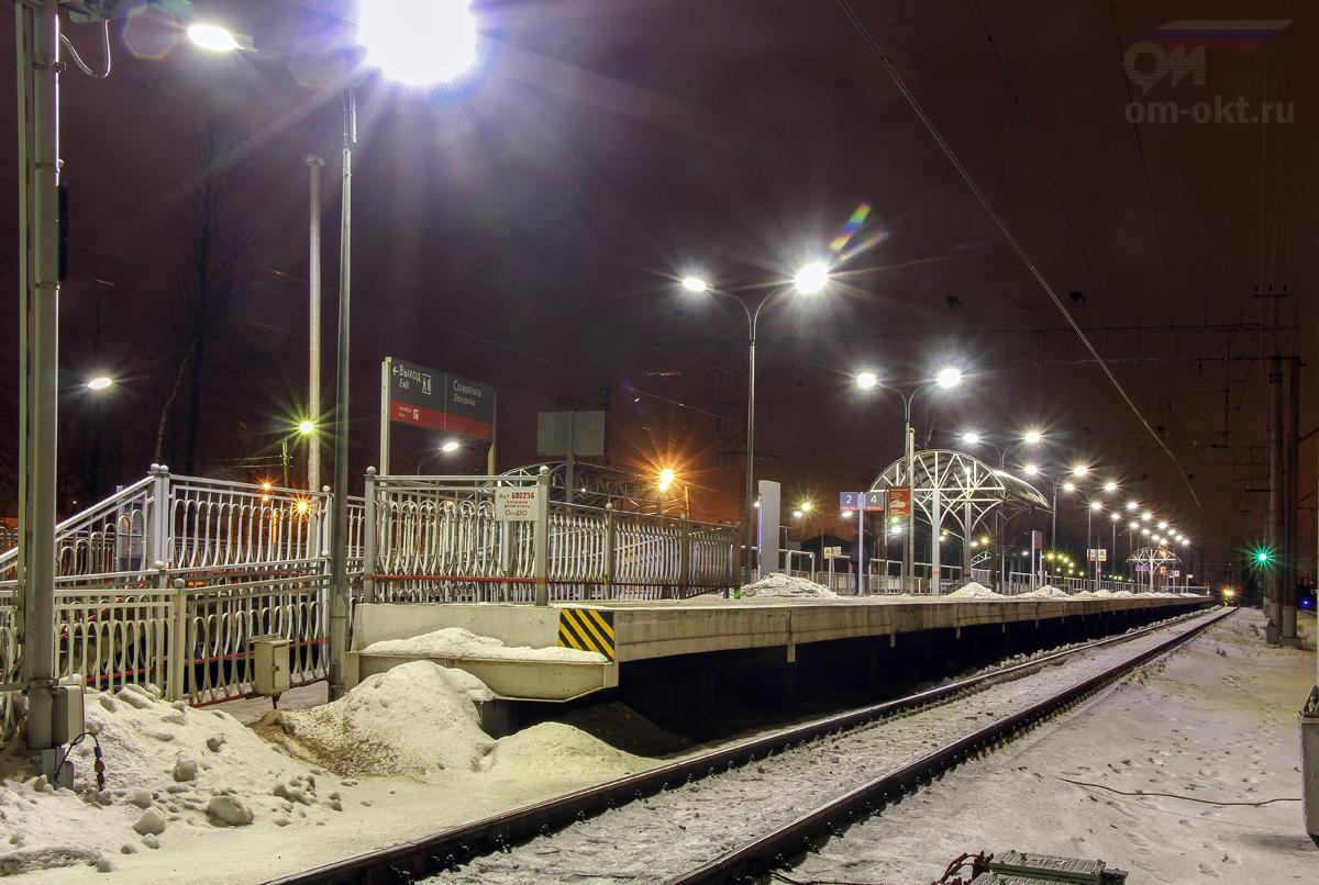 "Платформа ""На Санкт-Петербург"", станция Славянка"