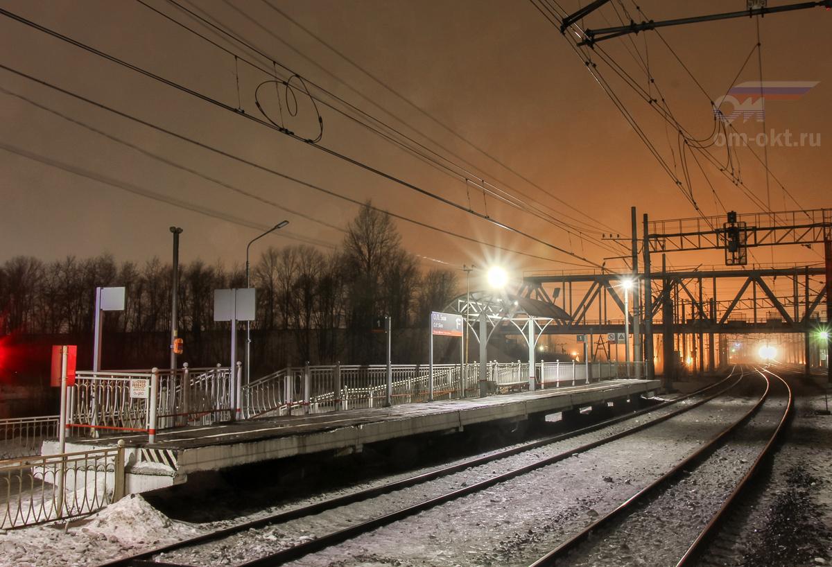 "Платформа ""Из Санкт-Петербурга"", Пост 5 км"