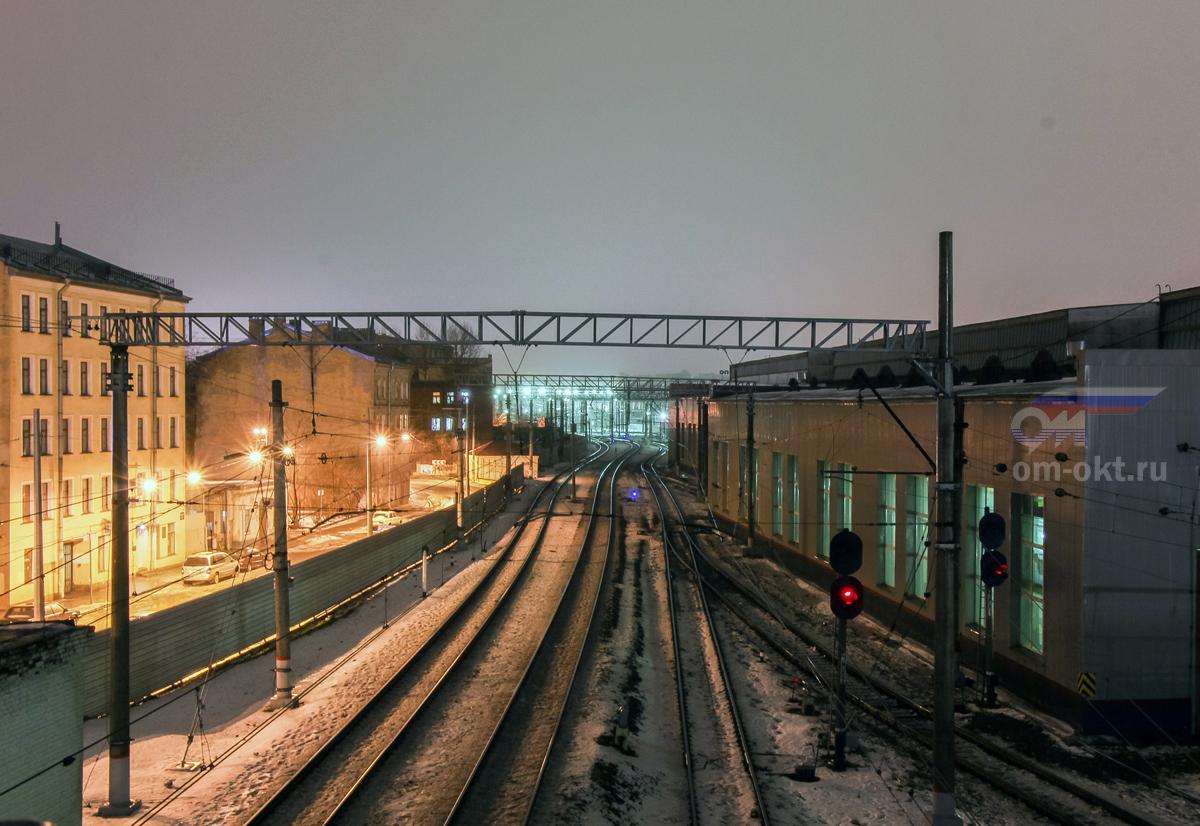 Вид на Московский вокзал, станция Санкт-Петербург-Главный