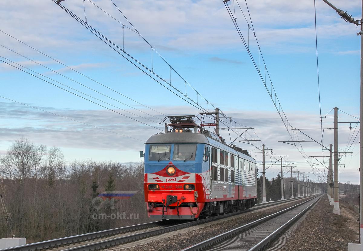 Высокоскоростная лаборатория на базе ЧС200-008, перегон Решетниково - Клин