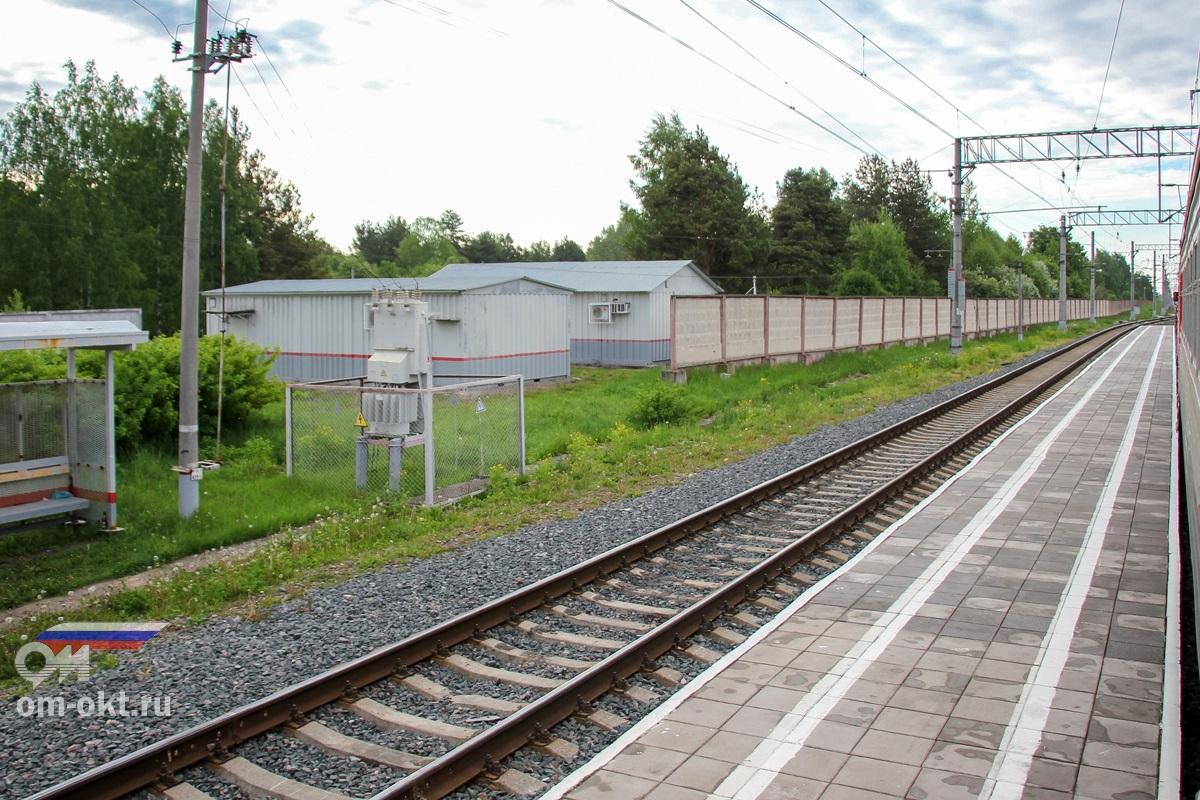 Пассажирская платформа «Из Бологое» , станция Березайка
