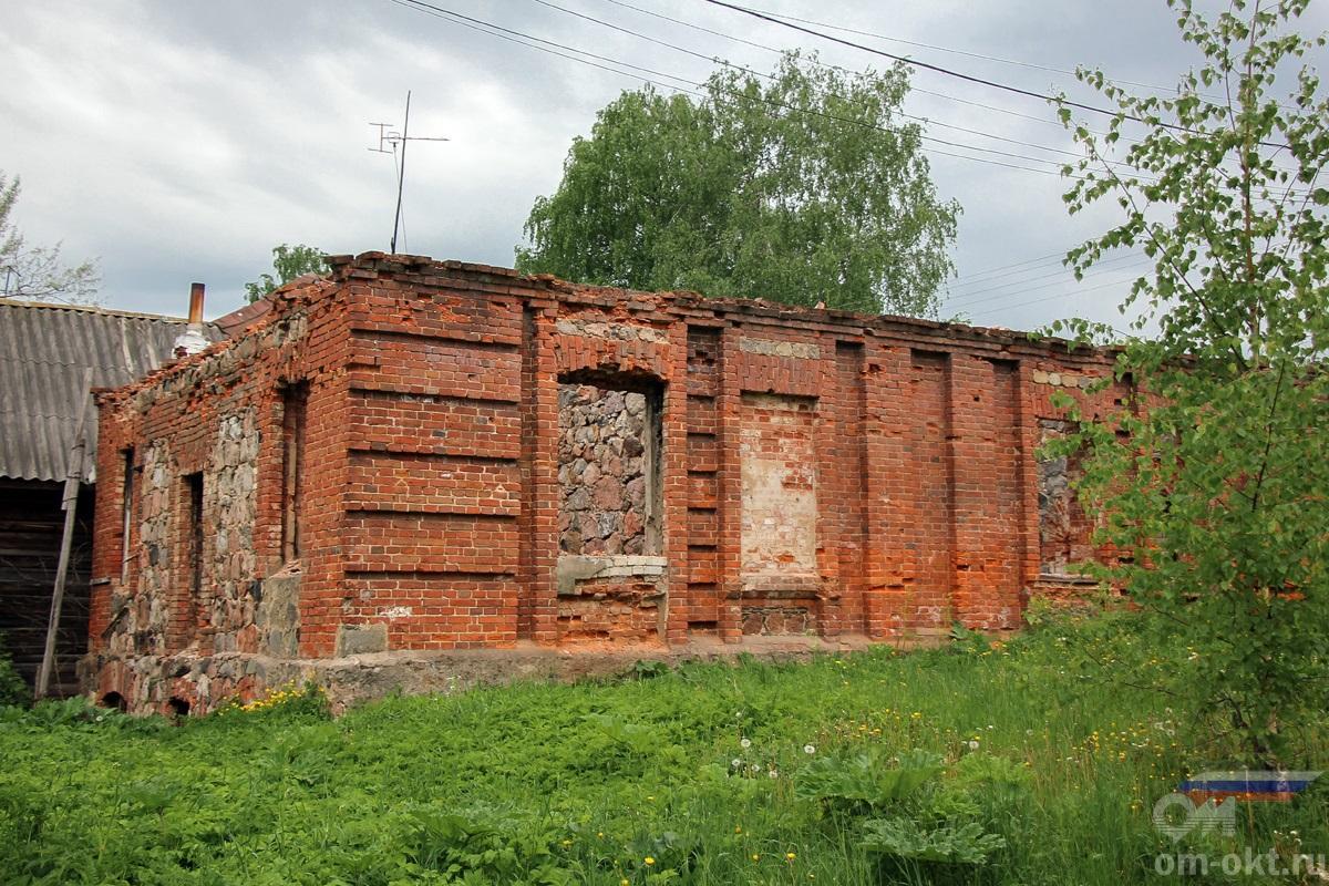 Здание в посёлке Лыкошино